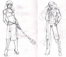 Recent Sketches by blackangelyume