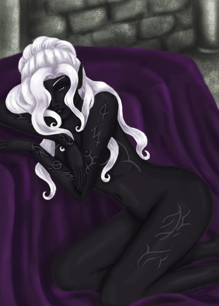 V'lexlin Andraste by blackangelyume