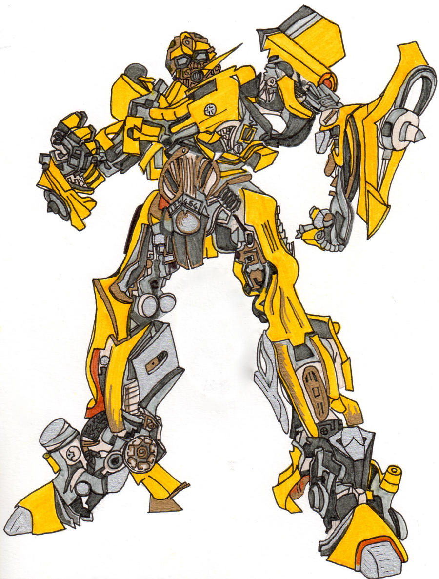 Bumblebee Transformers By Lavinia97