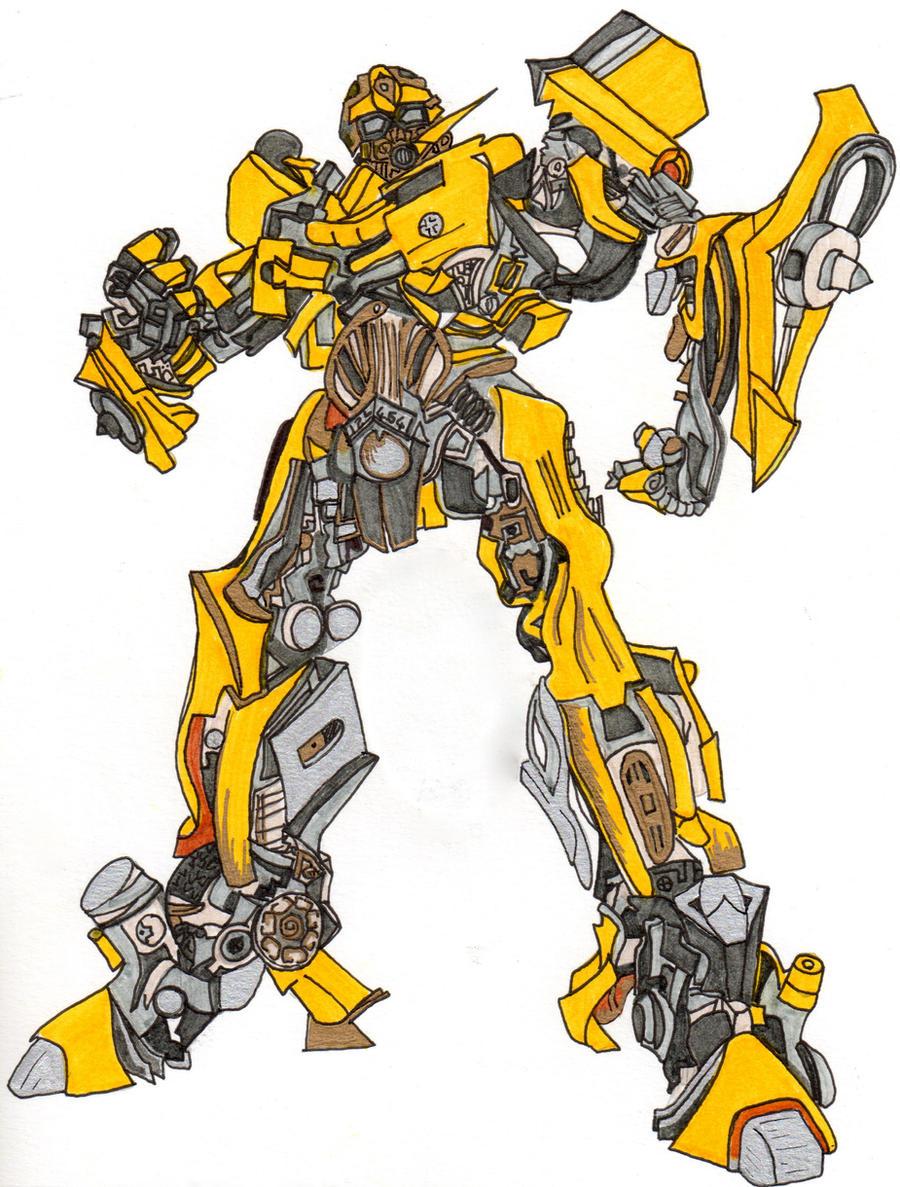 bumblebee transformers by lavinia97 on deviantart