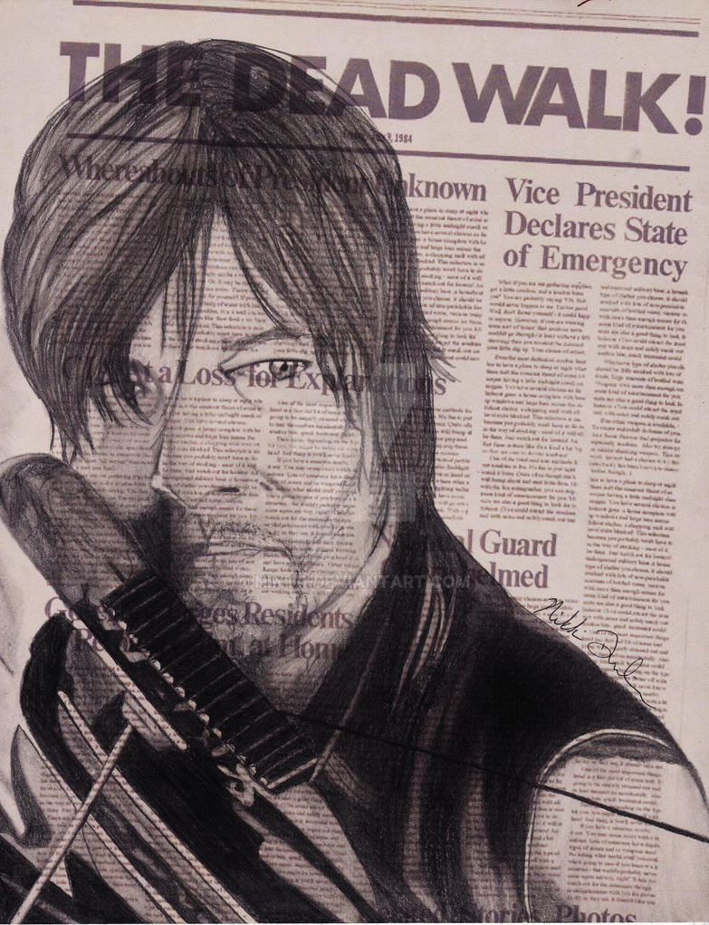 Daryl Dixon (Color) by NINTR