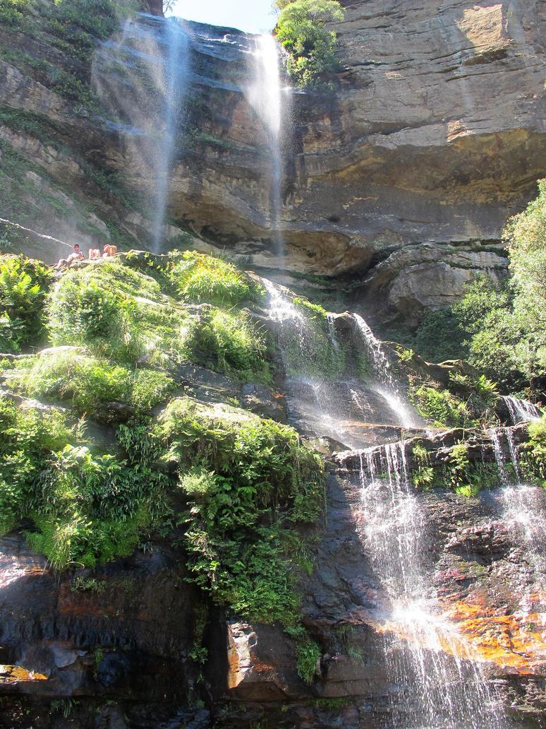 Waterfall Paradise by Darklight-phoenix