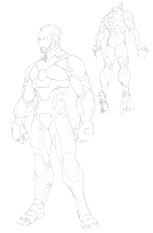 Iron Man Comic: Armor by shinlyver