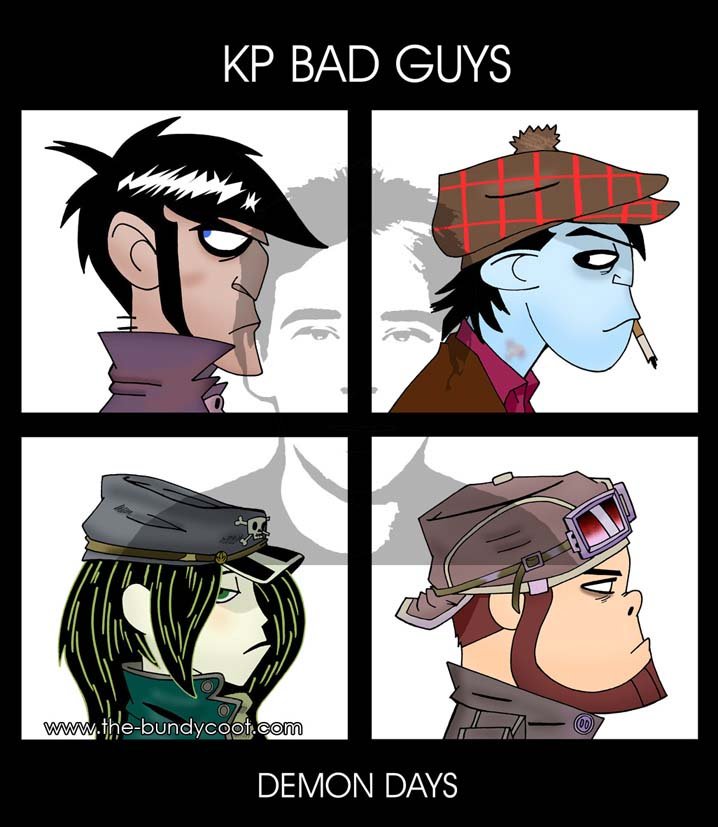 KP-Gorillaz - Demon Days by The-Bundycoot
