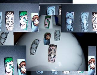 anime nails