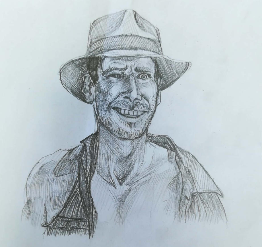 Indiana Jones by Chalchiutlikue