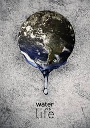 Water is Life 1 by JonnySnakeSeven