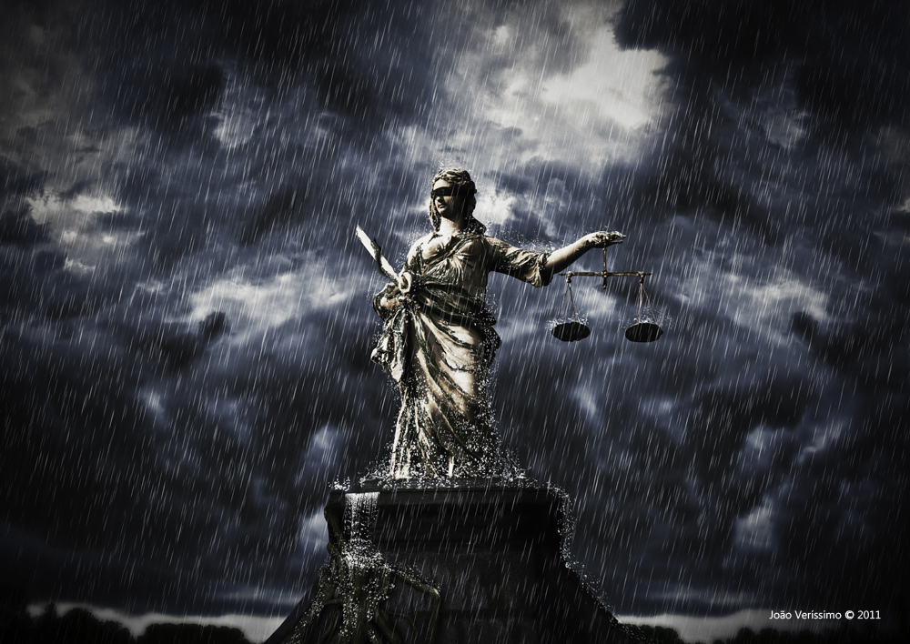 Blind Lady Justice Images Blind Justice 2 by Jon...