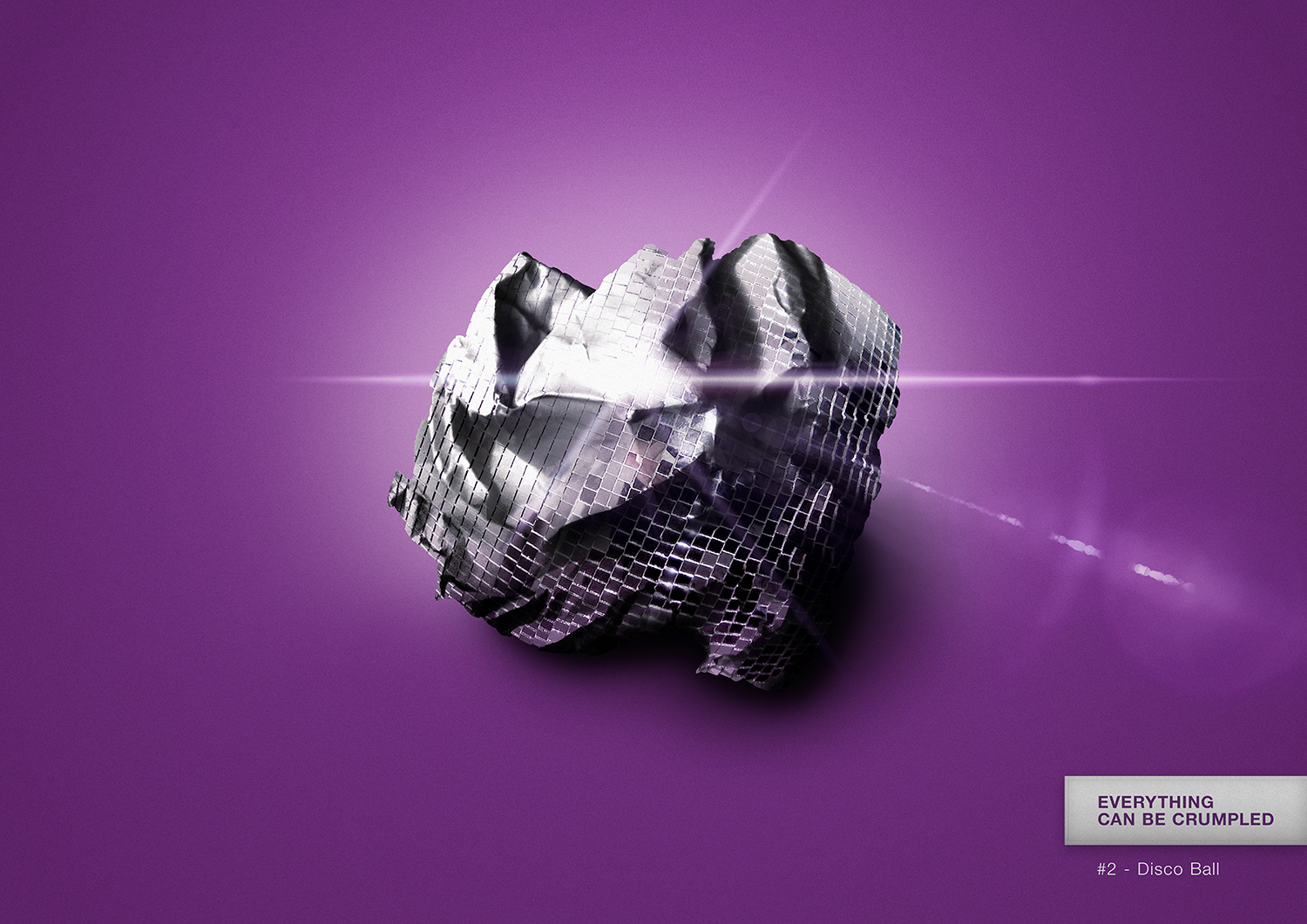 Everything can be crumpled - #2 Disco Ball