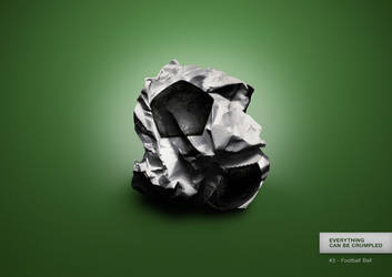 Everything can be crumpled - #3 Football Ball