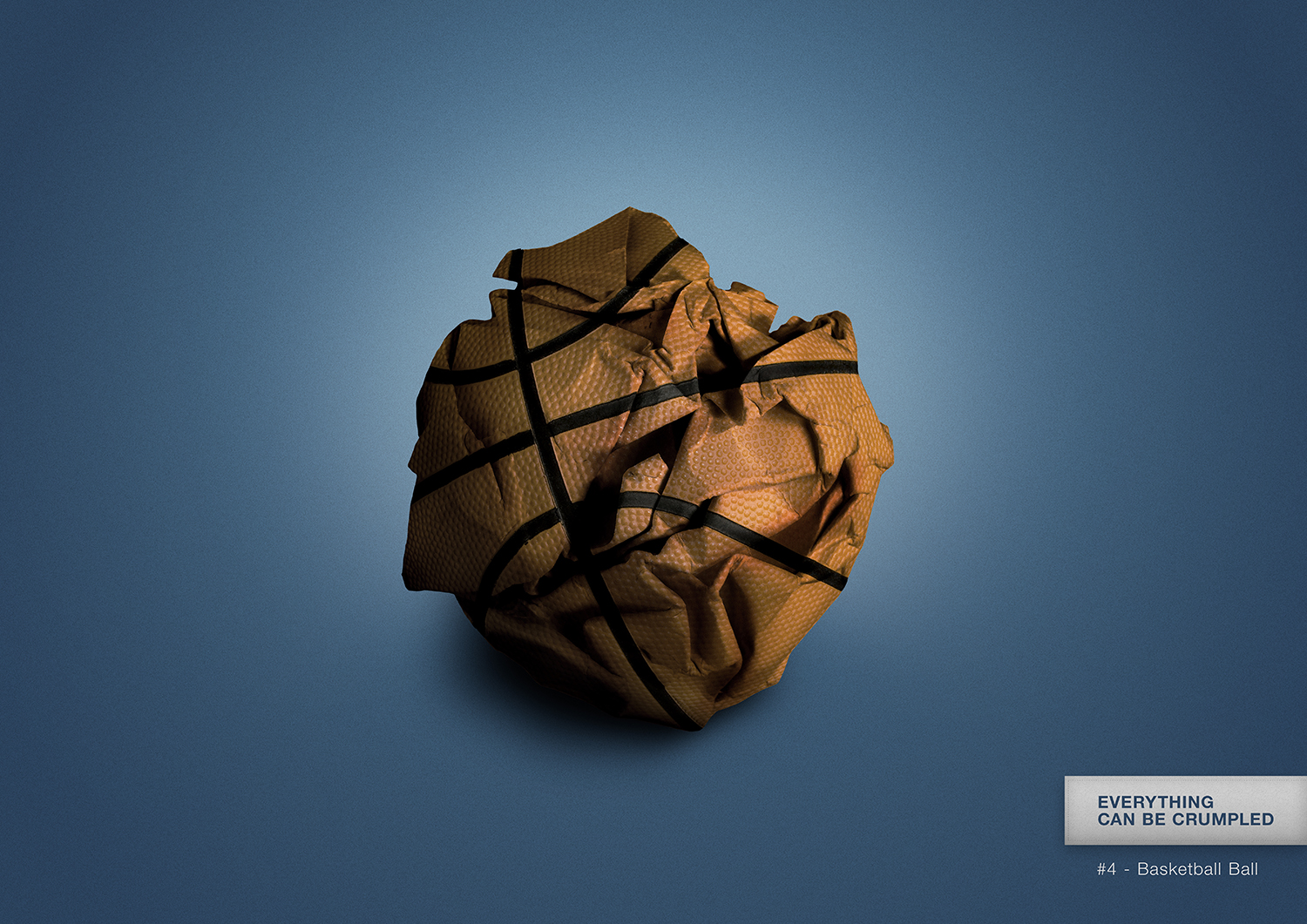 Everything can be crumpled - #4 Basketball Ball