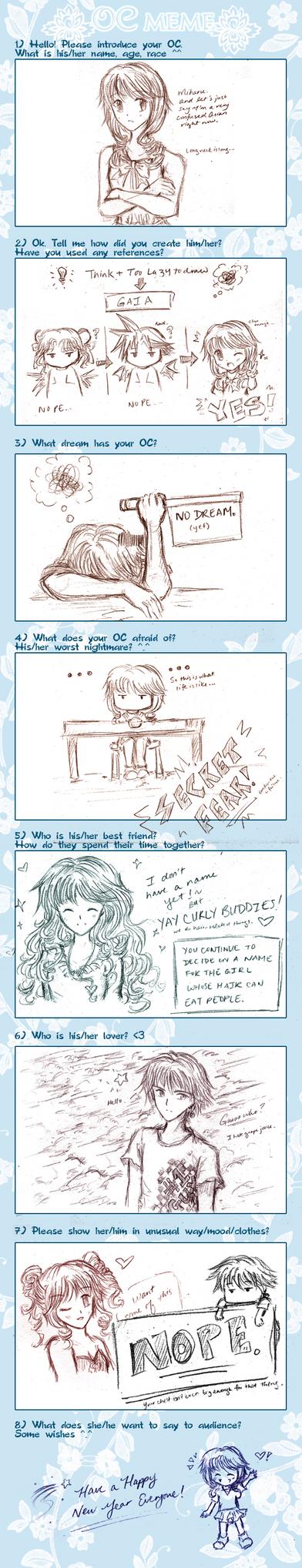 First Meme- OC Meme: Miharu by aragorn1014