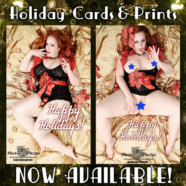 Holiday Prints and Cards by AnnaMarxModeling