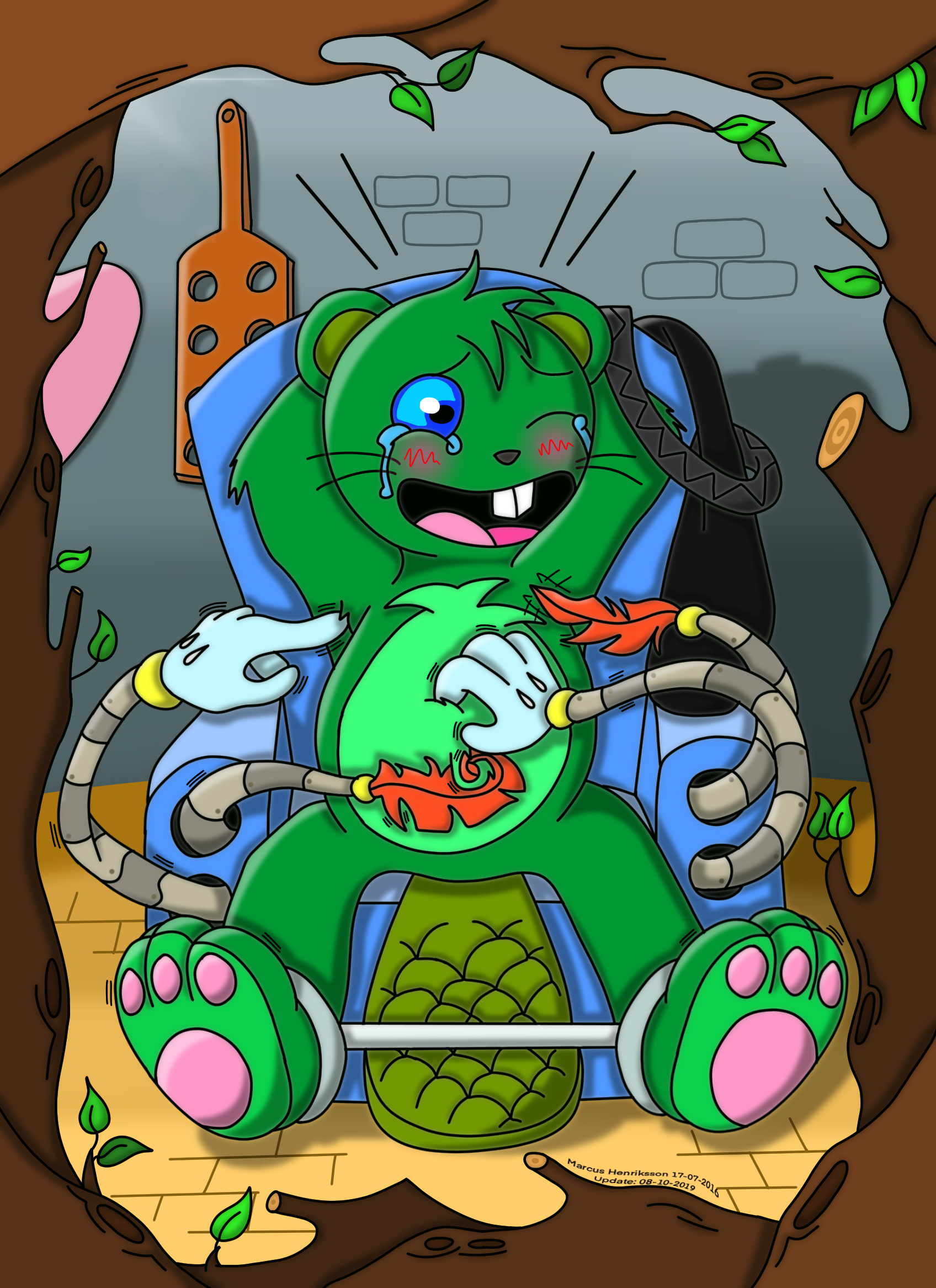 Jerome in the tickle chair by MoogleMage on DeviantArt – The Tickle Chair
