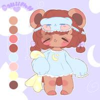 Sleepy Bear OTA CLOSED by dolliifluff