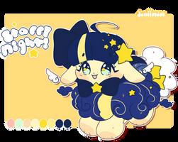 Starry Night! OTA CLOSED! Dreamy-Sheep~ by dolliifluff