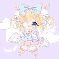 Cutesu! GIFT (+ speedpaint ) by dolliifluff