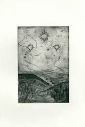 Over the meadows, across the hills by Sleepyheadphone