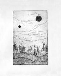 two suns by Sleepyheadphone