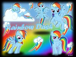 Rainbow Dash by KyssS90