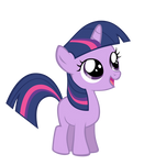 Vector Filly Twilight Sparkle by Kyss.S