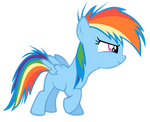 Vector Filly RainbowDash-Start by Kyss.S