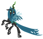 Vector Queen Chrysalis by Kyss.S