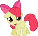 Vector Apple Bloom by Kyss.S