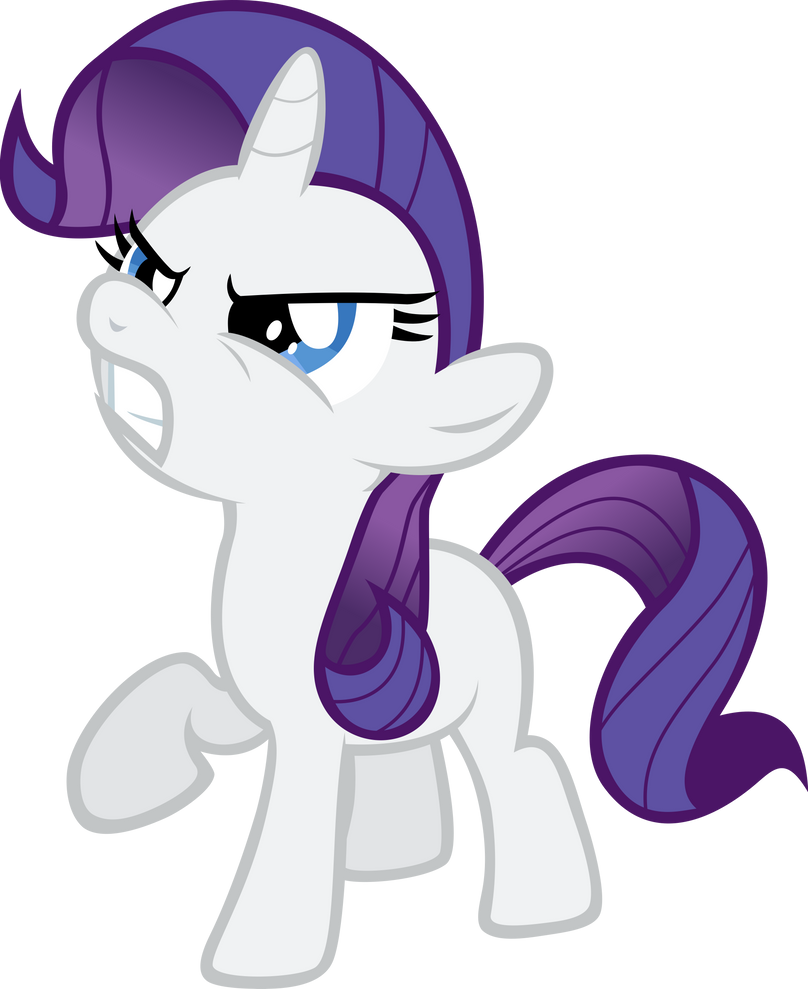 My little pony filly rarity - photo#10