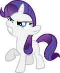 Vector Filly Rarity by Kyss.S