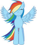 Vector RainbowDash by Kyss.S