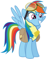 Vector RainbowDash- Leader by Kyss.S by KyssS90