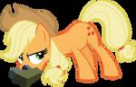 Vector Applejack by Kyss.S