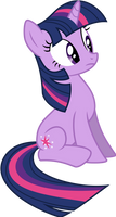 Vector Twilight Sparkle - Sitting by Kyss.S by KyssS90