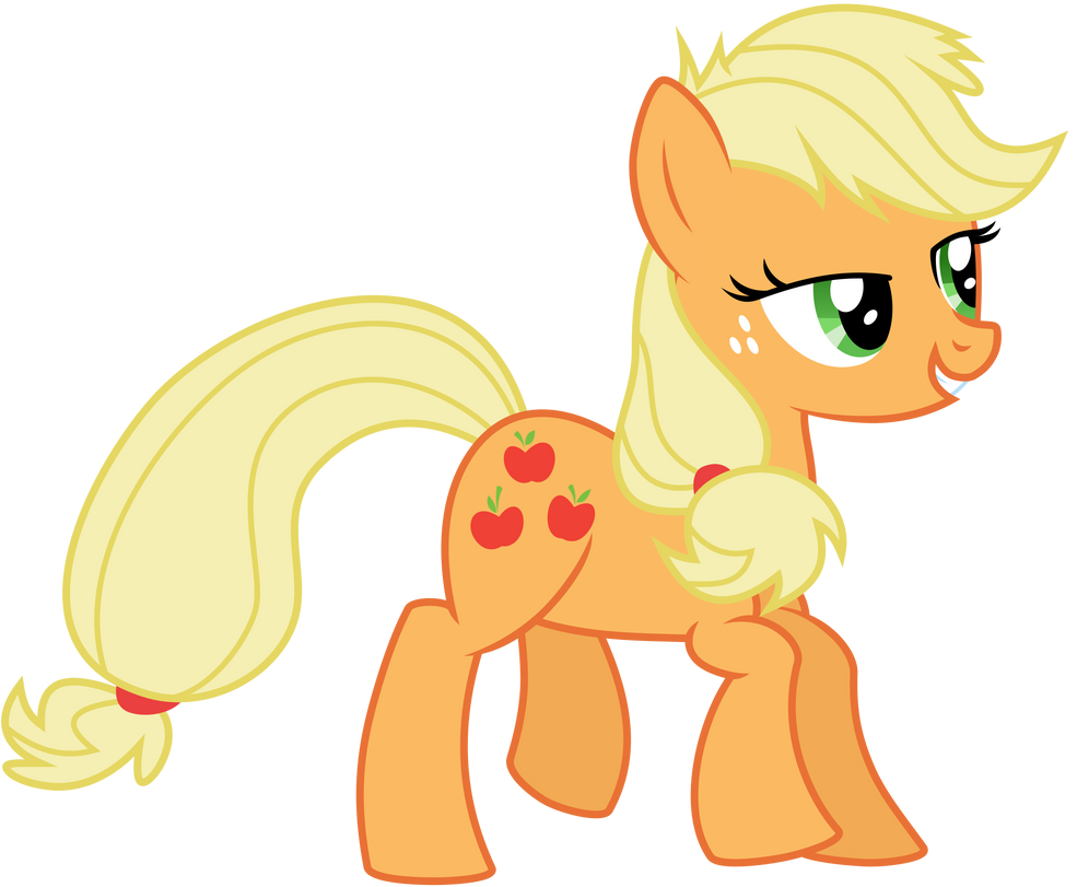 Vector Applejack by KyssS by KyssS90