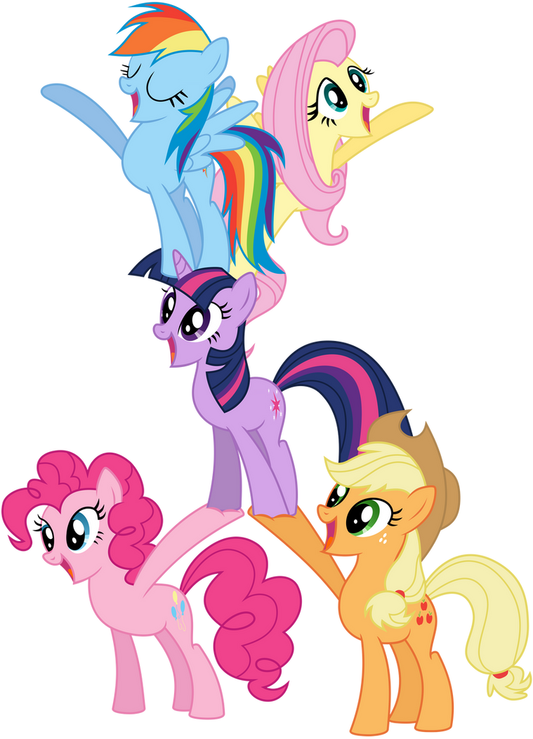 Mane5-Pyramid by Kyss.S by KyssS90