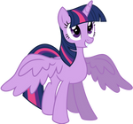 Twilight Sparkle - Alicorn by KyssS