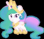 Vector Princess Celestia by Kyss.S