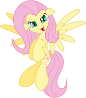 Fluttershy vampire - evil [Halloween] by Kyss.S by KyssS90