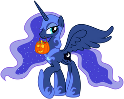 Princess Luna - Nightmare Night Costume by Kyss.S by KyssS90