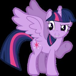 Vector Alicorn Twilight Sparkle by KyssS90
