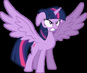 Vector Princess Twilight Sparkle furious by KyssS90