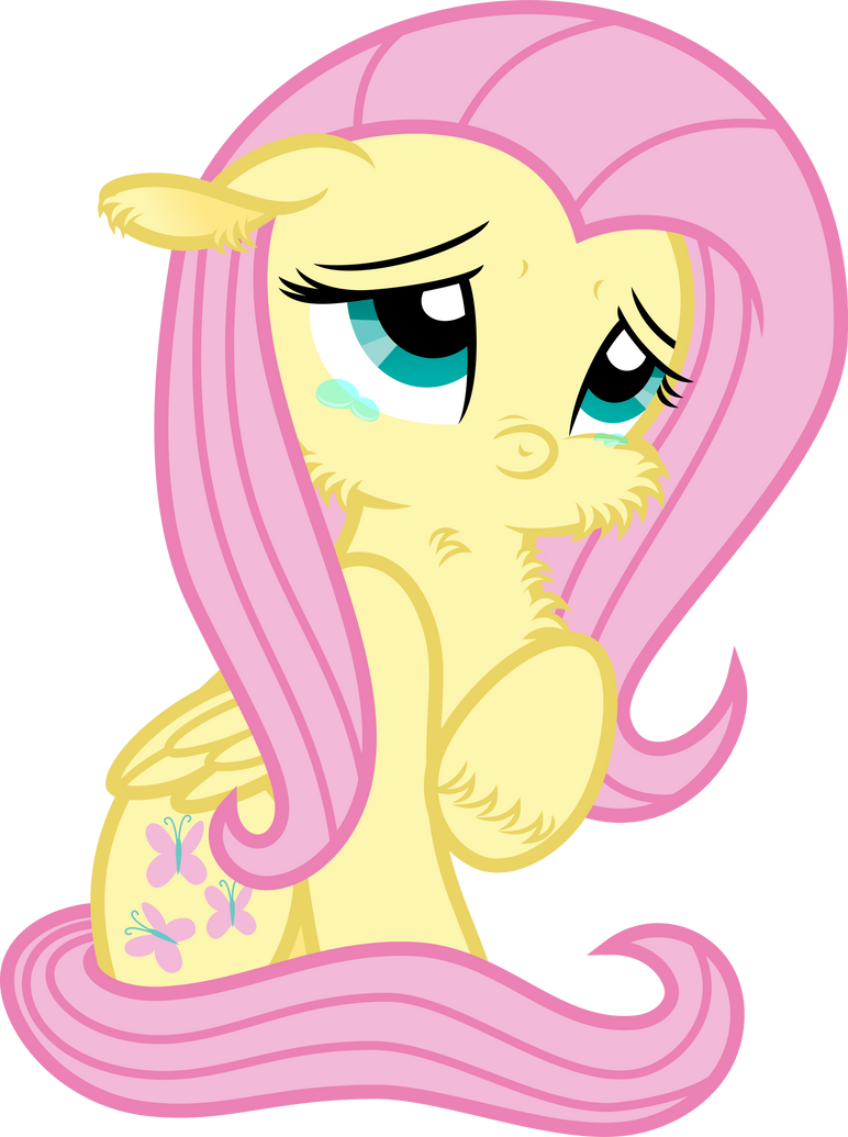 Vector Fluttershy- Tiny Shy? by KyssS90