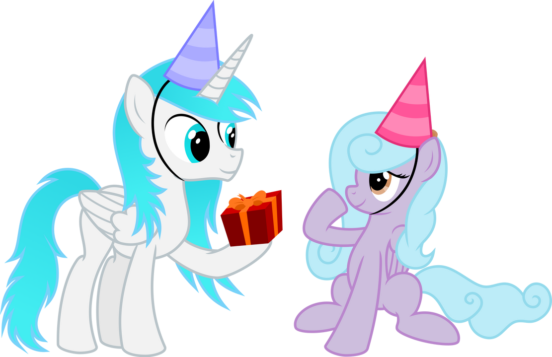 Cloud Nine and Frost fire - Happy Birthday by KyssS90