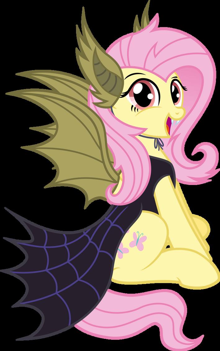 Fluttershy [Nightmare Night!] by KyssS90