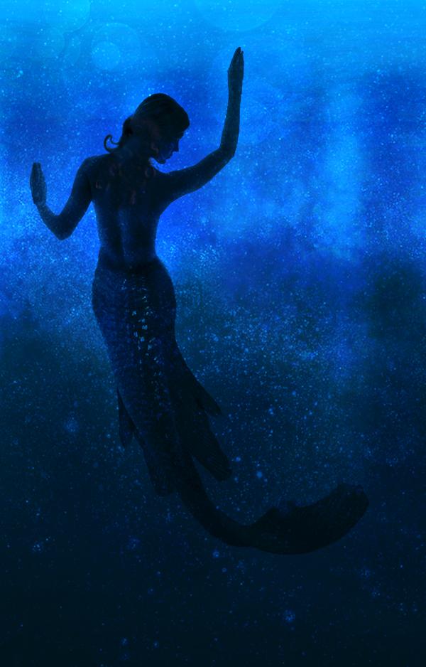 Blue Mermaid by eonlegion
