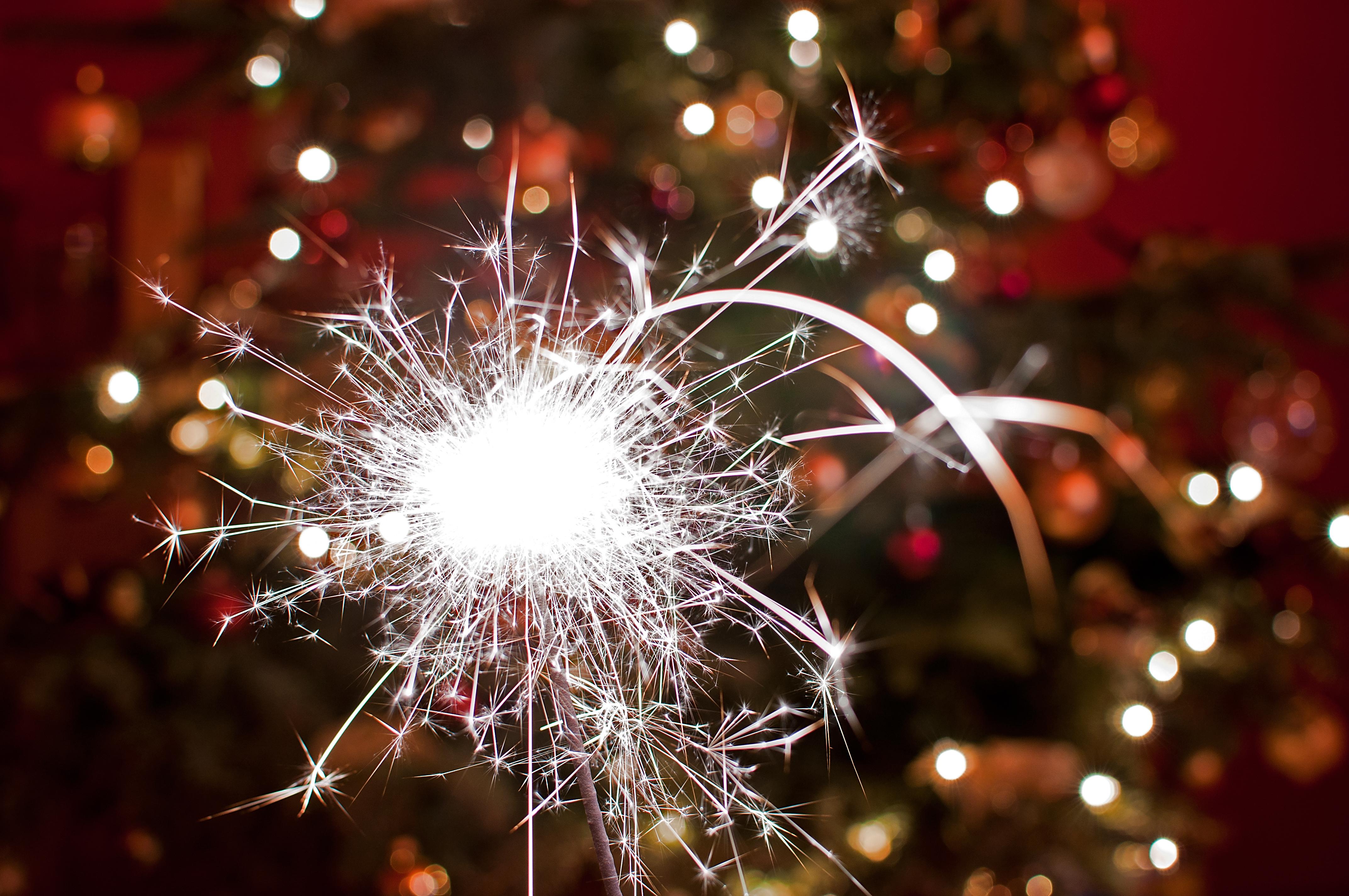 Shiny Christmas sparkler by PeterTakacs on DeviantArt