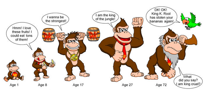 When I grow up - Donkey Kong