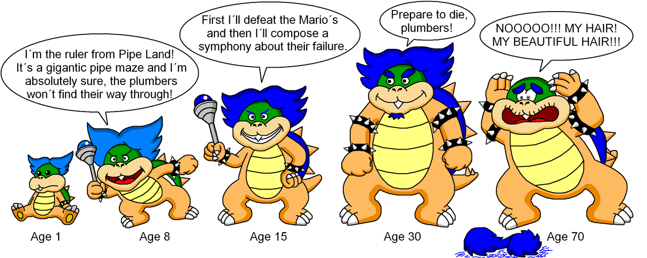 When I grow up - Ludwig Koopa by DarkDiddyKong on DeviantArt