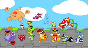 Paper Mario bosses